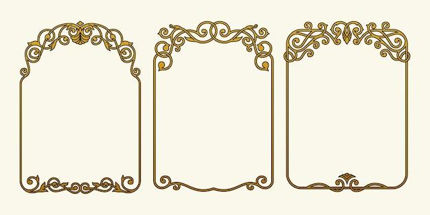Grenzen frames luxe vintage collectie set