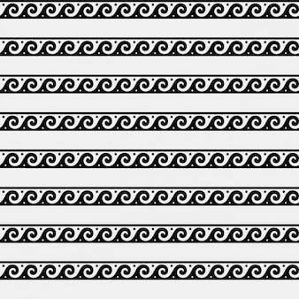 Griekse wave ornament pattern