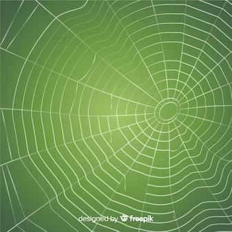 Griezelige spinnewebachtergrond