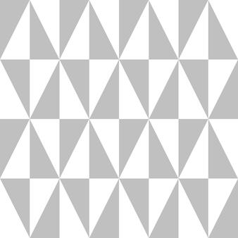 Grijpende driehoekige ruitvorm in zilverkleurige kleur