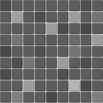 Grijs en zwart de keramische mozaïektegels muur hoge resolutie. naadloze baksteen en textuur interieur schone achtergrond.