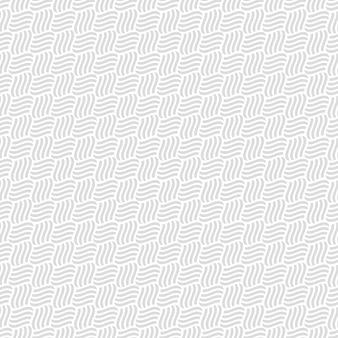 Grijs naadloos patroon van interlacement