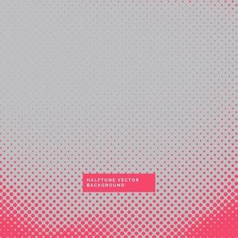 Grijze achtergrond met rode halftone