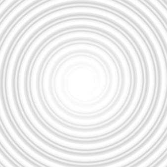 Grijze cirkel spiraal gestreepte abstracte tunnel. en omvat ook