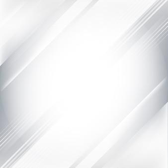 Grijze en witte gradiënt abstracte achtergrond