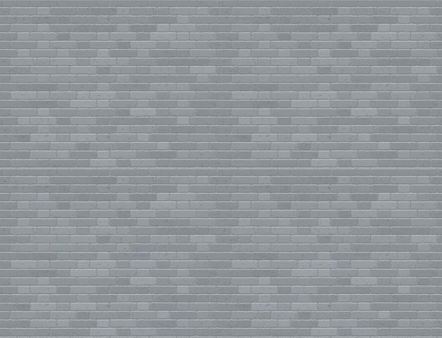 Grijze grunge bakstenen muur