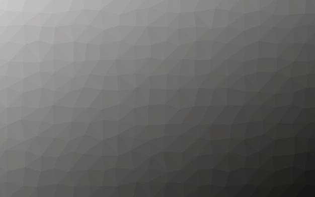 Grijze polygoon laag poly geometrie achtergrond