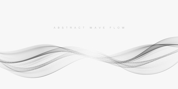 Grijze technologie achtergrond. abstracte achtergrond met grijze golven.