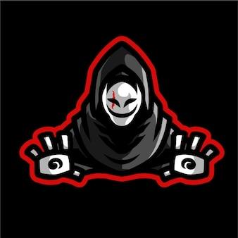 Grim reaper mascotte gaming