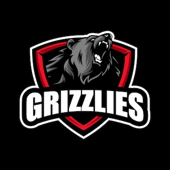 Grizzly beer mascotte