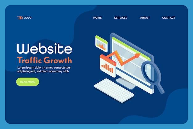 Groei van websiteverkeer