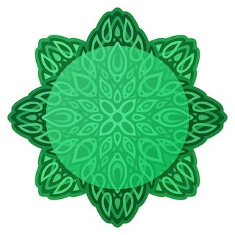 Groen abstract patroon met exemplaarruimte