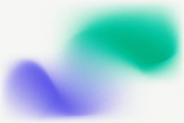 Groen blauw verloop wazige achtergrond