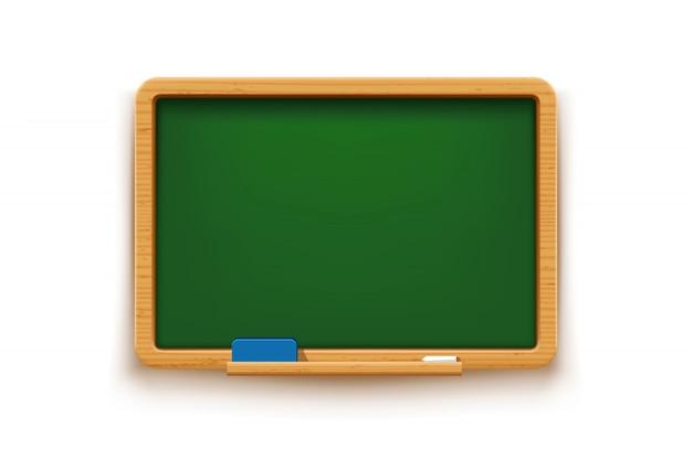Groen bord geïsoleerd