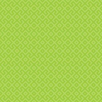 Groen geometrisch naadloos patroon