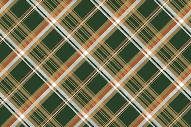 Groen geruite schotse ruit geruite naadloze patroon