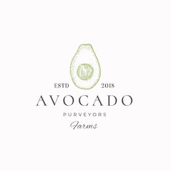 Groen label van avocado-leveranciers