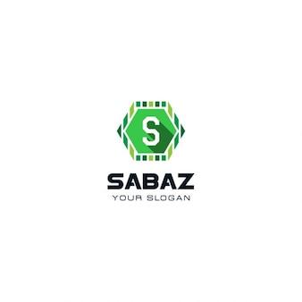 Groen letter s logo