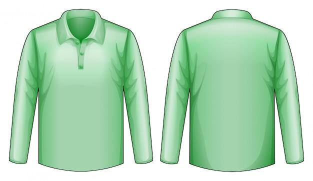 Groen shirt