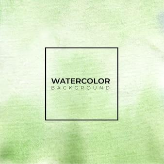 Groene abstracte aquarel achtergrond, kleur spatten op het papier