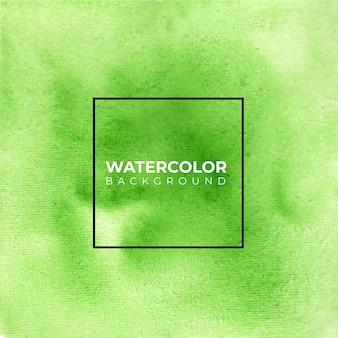 Groene abstracte aquarel textuur achtergrond.