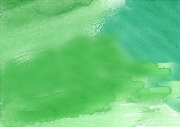 Groene abstracte de textuurachtergrond van de inktstroomwaterverf