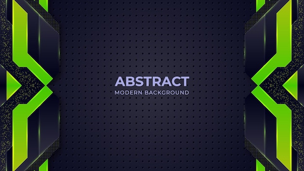 Groene abstracte moderne achtergrond