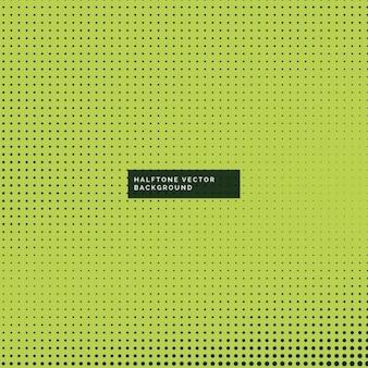 Groene achtergrond met halftoonpunten