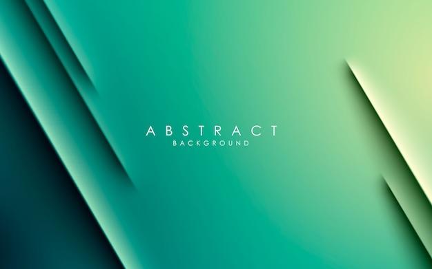 Groene achtergrond met kleurovergang moderne diagonale strip
