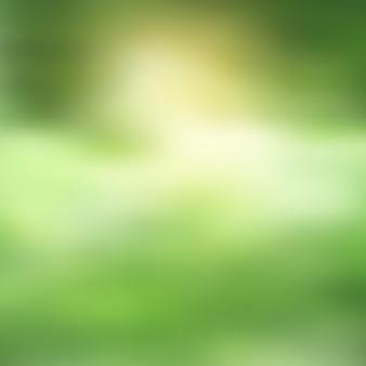 Groene achtergrond wazig
