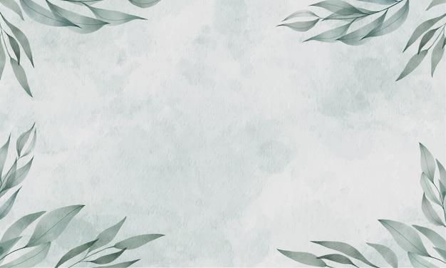 Groene aquarel achtergrond