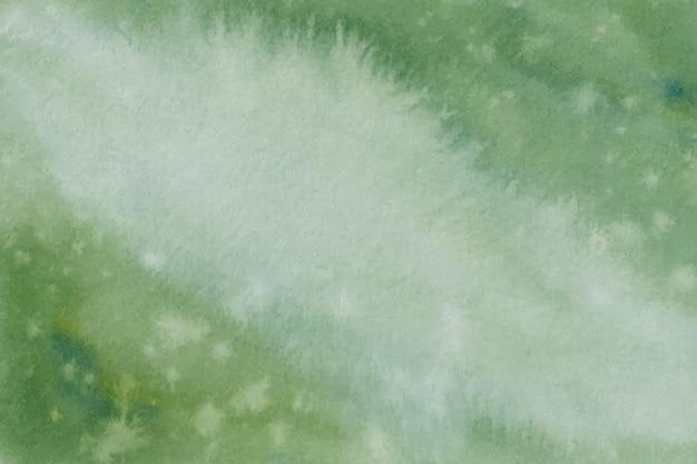 Groene aquarel achtergrondstructuur