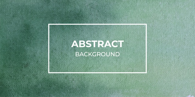Groene aquarel textuur web banner achtergrond
