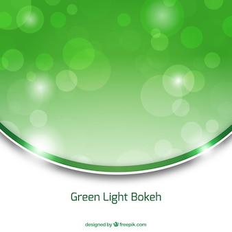 Groene bokeh abstracte achtergrond