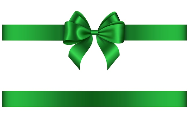 Groene boog en lint