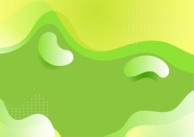 Groene boon abstracte achtergrond