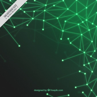 Groene circuit achtergrond