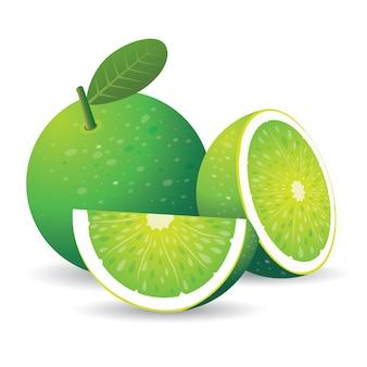 Groene citroen