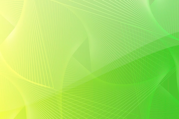 Groene en gele abstracte achtergrond