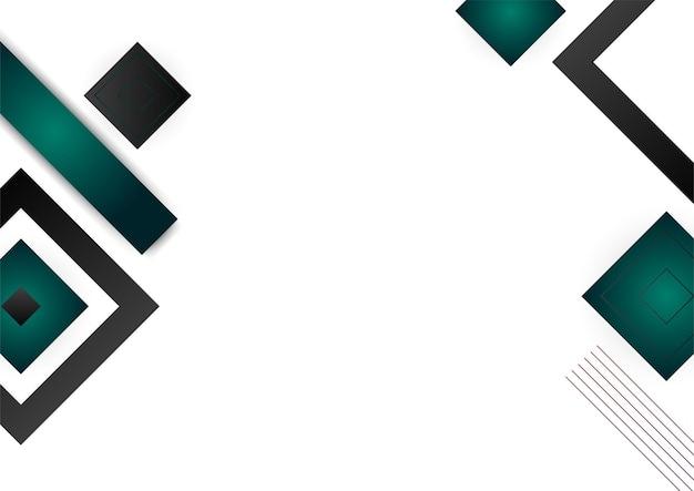 Groene en gouden abstracte geometrische achtergrondkleur voor de kleurovergang certificaatsjabloon. pak voor presentatieachtergrond, spandoek, poster, flyer, omslag, visitekaartje en nog veel meer