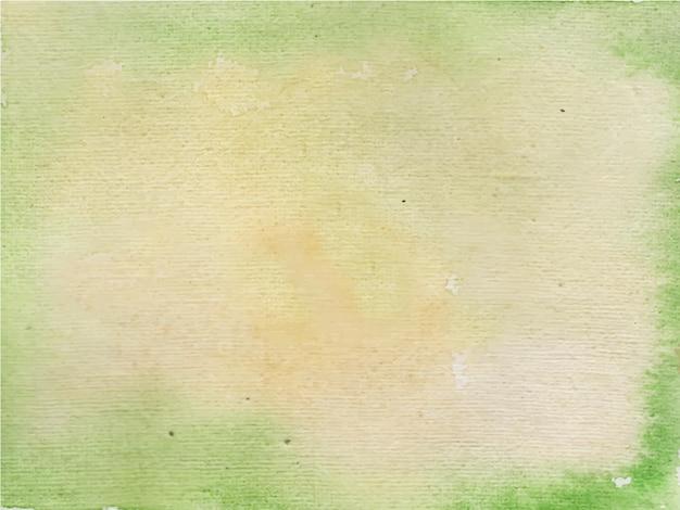Groene en heldere abstracte aquarel textuur achtergrond,