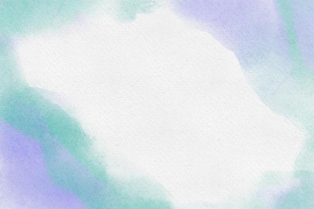 Groene en paarse aquarel achtergrond