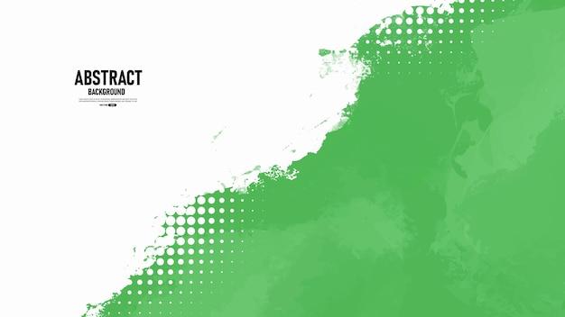 Groene en witte abstracte grunge textuur achtergrond