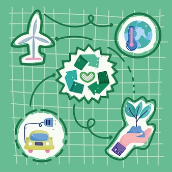 Groene energiecyclus