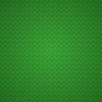 Groene geometrische achtergrond, patricks dagkleuren