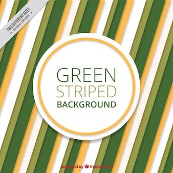 Groene gestreepte achtergrond