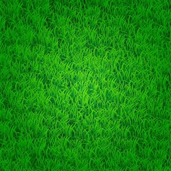 Groene grasachtergrond met donkere randen. is niet naadloos
