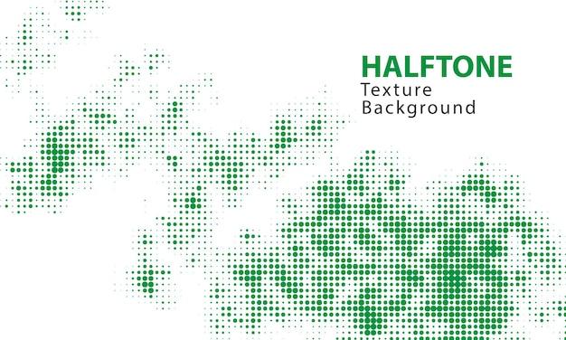 Groene halftoon textuur achtergrond