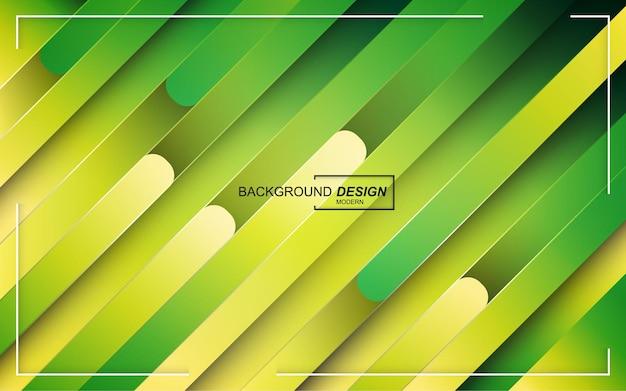 Groene moderne abstracte achtergrond