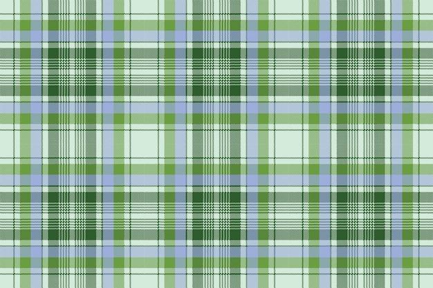 Groene plaid pixel naadloze stof textuur